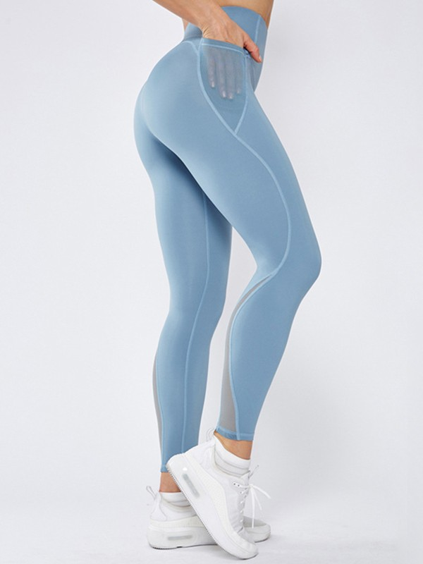 Comfy Nylon Pocket Yoga Pants&Leggings