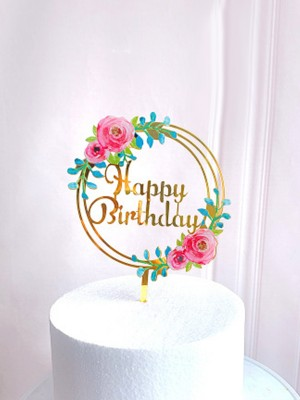 Fascinating Acrylic Cake Topper