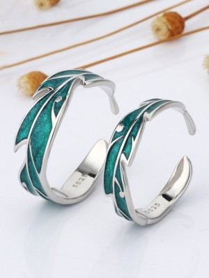 Classic S925 Silver Adjustable Couple Rings