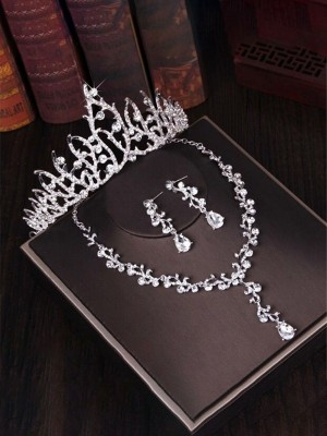 Beautiful Alloy With Rhinestone Jewelry Sets For Ladies