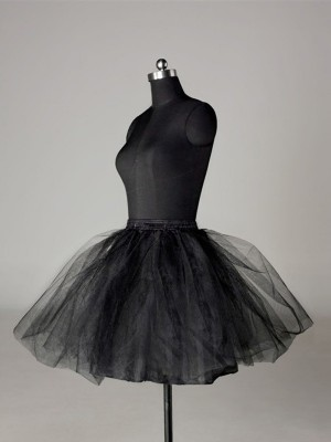 Fashion Tulle Netting Ball-Gown 2 Tier Short Length Special Occasion Petticoats