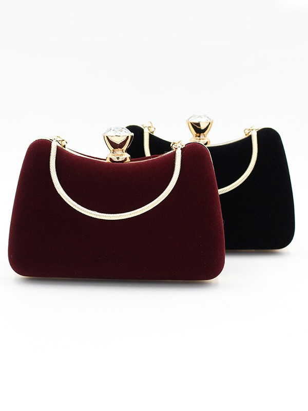 Luxurious Velvet Evening/Party Handbags