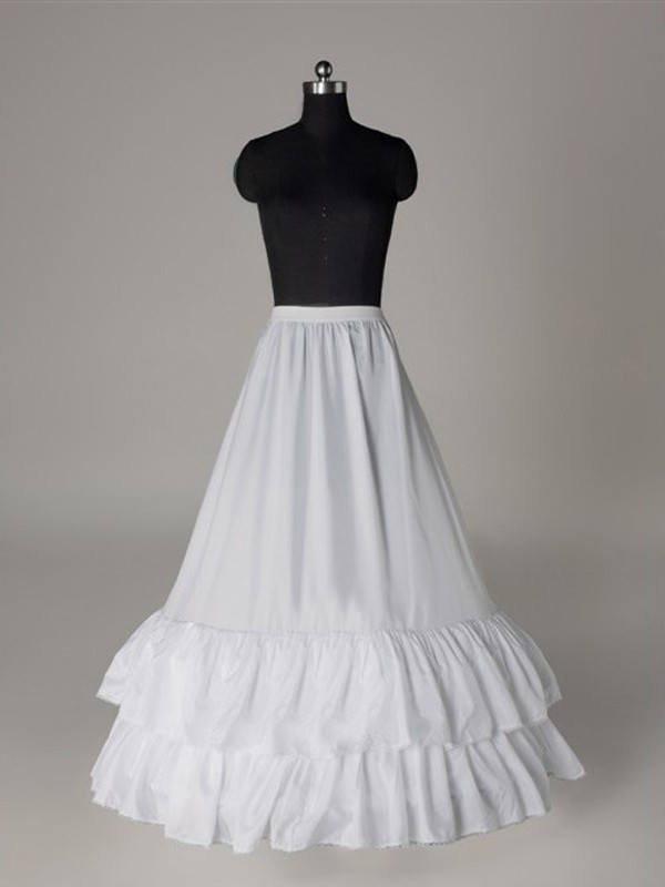 Fashion Nice Nylon A-Line 1 Tier Floor Length Slip Style/Wedding Petticoats