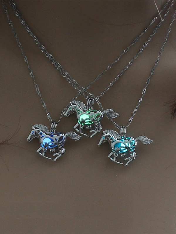 Vintage Alloy With Horse Hot Sale Necklaces
