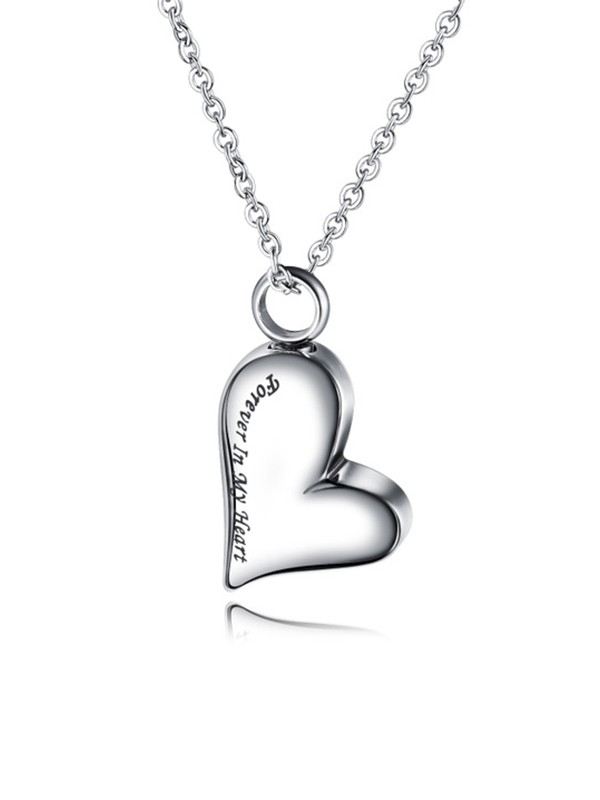 Chic Titanium With Love Necklaces For Ladies