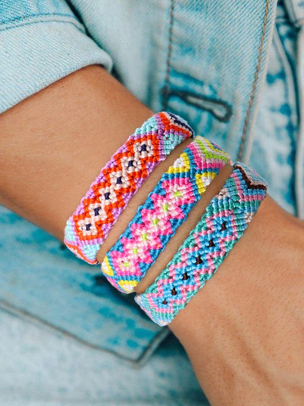 Occident Girly Cotton Thread Hot Sale Bracelets