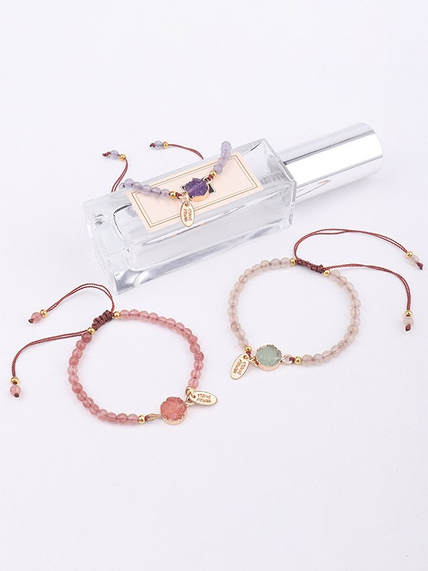 Occident Fashion Flower Stone Hot Sale Bracelets