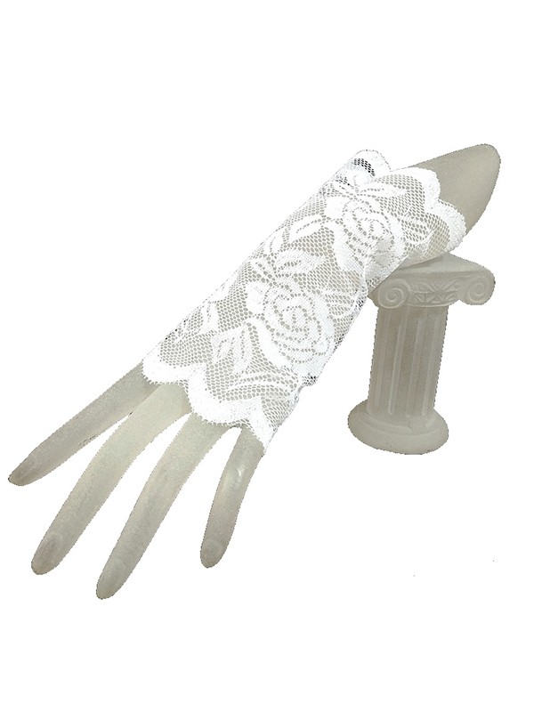 Brilliant Lace Wedding Gloves