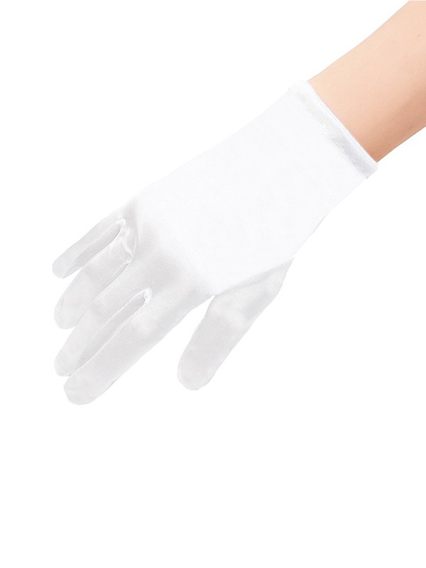 Fancy Cloth Wedding Gloves