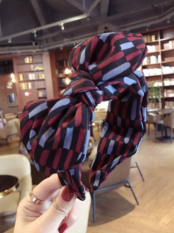Attractive Cloth With Bowknot Headbands