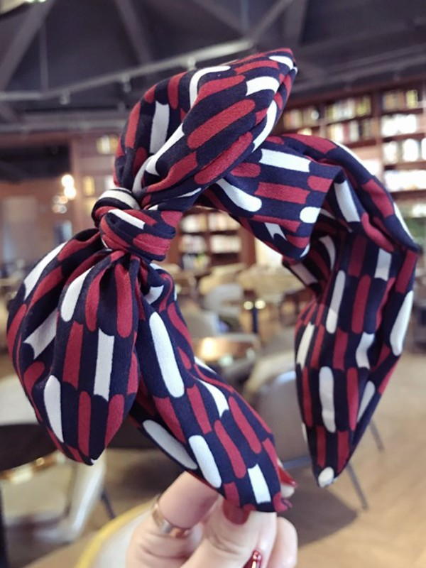 Charming Cloth With Bowknot Headbands