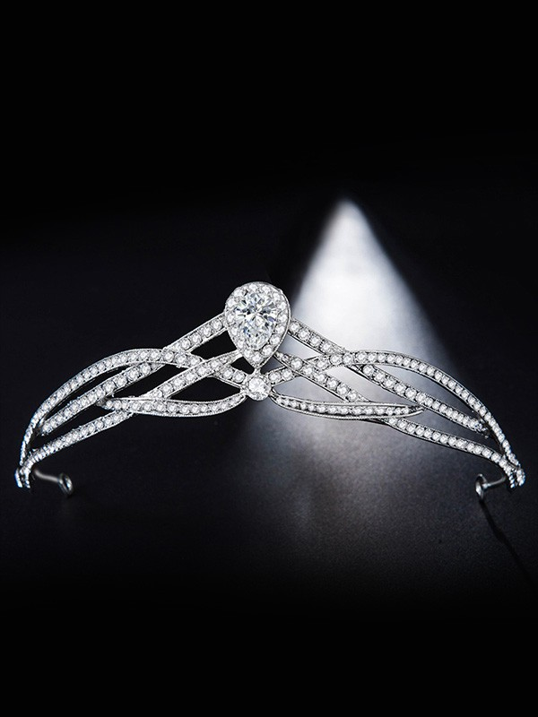 Bridal Pretty Alloy With Rhinestone Headpieces