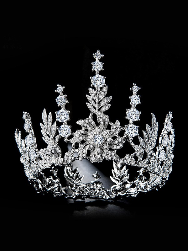 Bridal Glamorous Alloy With Rhinestone Headpieces