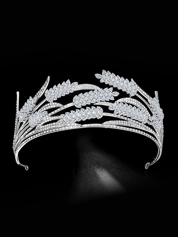 Bridal Brilliant Alloy With Rhinestone Headpieces