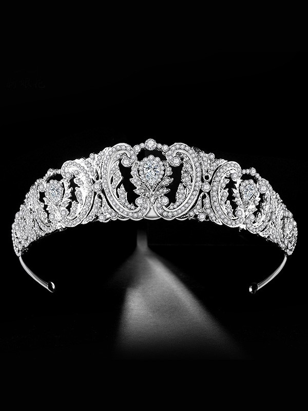 Bridal Elegant Alloy With Rhinestone Headpieces